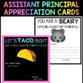 Assistant Principal Appreciation Cards