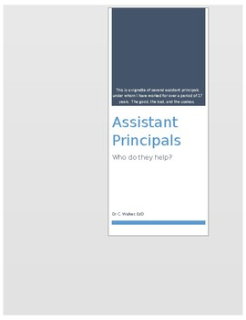 Assistant Principals: Who do they help?