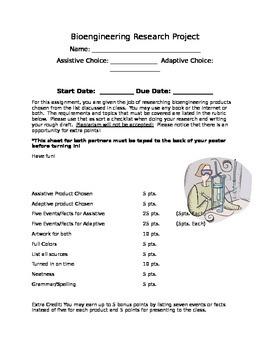 Assistive Adaptive Bioengineering Research Poster Presentation