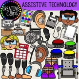 Assistive Devices and Technology {Creative Clips Clipart}