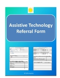 Assistive Technology (AAC) Referral form for SLPs