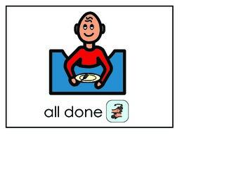 Word of the Week 2: All Done - BOARDMAKER - assistive technology, aac, speech