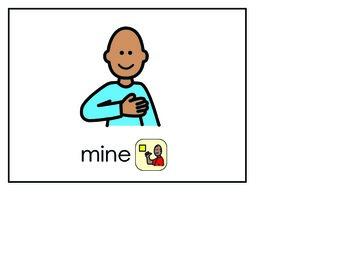 Word of the Week 3: Mine - BOARDMAKER - assistive technology, aac, speech