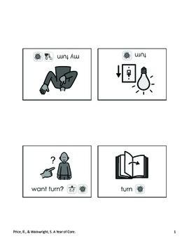 Word of the Week 5: Turn - BOARDMAKER - assistive technology, aac, speech