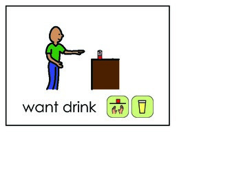 Word of the Week 7: Drink - BOARDMAKER - assistive technology, aac, speech