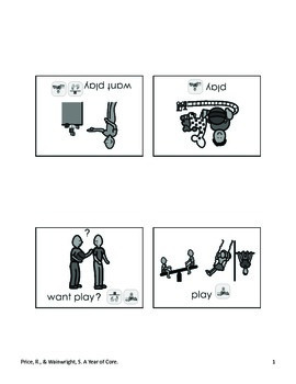 Word of the Week 8: Play - BOARDMAKER - assistive technology, aac, speech