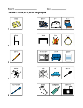 Associated Pictures with Words