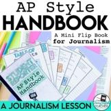 AP Style (Associated Press) Writing Mini Flip Book Student