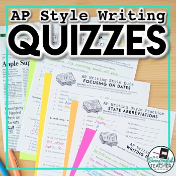 Associated Press (AP) Style Writing Quizzes