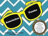 Association Puzzles FREEBIE