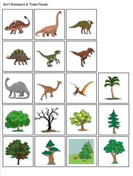 Non-Identical Sorting File Folder Activities for Preschool and Kindergarten