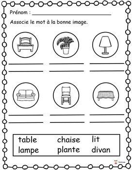 Association: mot-image