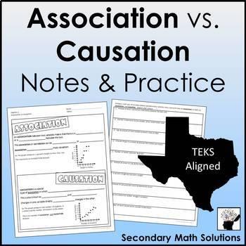 Association vs Causation Notes & Practice (A4B)