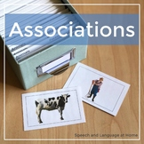 Associations - Speech and Language Photo Cards
