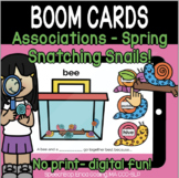 Associations (Spring) - Snatching Snails - Boom Cards - Di