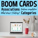 BOOM Cards™ Speech Therapy   Associations & Categories