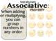 Associative, Commutative, and Distributive Property PowerPoint