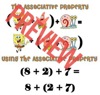 Associative Property & Distributive Property Notes