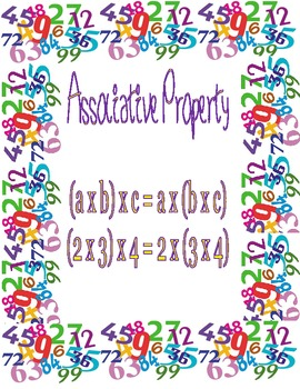 Associative Property (Fairy Tale Color by Number!)