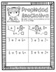 Associative Property Handouts in SPANISH for First Grade