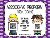 Associative Property QR Code Task Cards