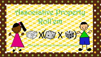 Associative Property Roll'em