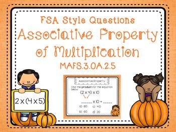Associative Property Task Cards