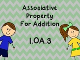 Associative Property Work For First Grade