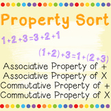 Associative Property and Commutative Property