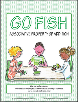 Associative Property of Addition Go Fish Game