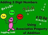 Associative Property of Addition for Adding 3 Digits First Grade 68 pgs