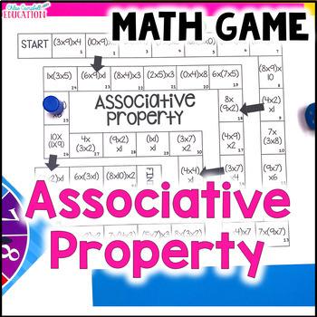 Associative Property of Multiplication Board Game