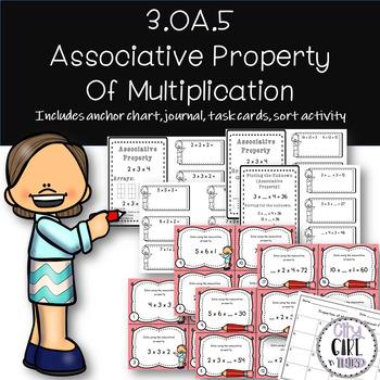 Associative Property of Multiplication 3.OA.5