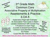 Associative Property of Multiplication - 3.OA.5 - Common Core Math