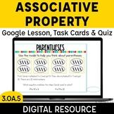 Associative Property of Multiplication Digital for Distance Learning