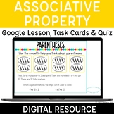 Associative Property of Multiplication Digital for Distanc