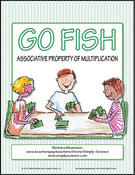 Associative Property of Multiplication Go Fish Game