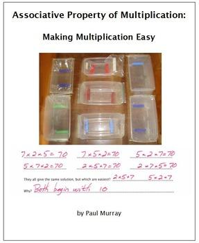 Associative Property of Multiplication:  Making Multiplica
