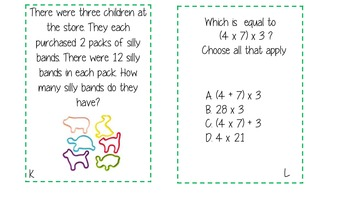 Associative Property of Multiplication Pack