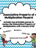 Associative Property of Multiplication Players!