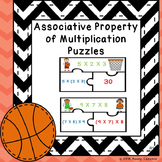 Associative Property of Multiplication Game 3rd Grade Math