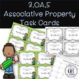 Associative Property of Multiplication Task Cards 3.OA.5