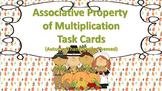 Associative Property of Multiplication Task Cards {Autumn