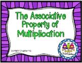 Associative Property of Multiplication Task Cards (Grade 3 GoMath! 4.6)
