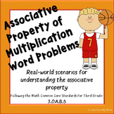 Associative Property of Multiplication Word Problems