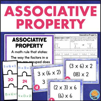 Associative Property Of Multiplication Worksheets | TpT