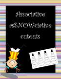 """Associative """"asSNOWciative"""" cutouts"""