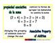 Associative of addition/Asociativa de sumar prim 1-way blue/verde
