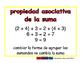 Associative of addition/Asociativa de sumar prim 2-way blue/rojo