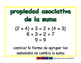 Associative of addition/Asociativa de sumar prim 2-way blue/verde